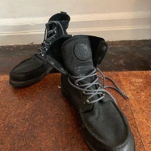 Black diesel boots